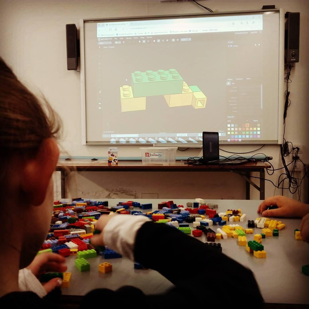 alunno primaria geometria didattica brick mattoncini